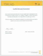 Conflict minerals declaration img