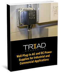 Wall Plug-In AC and DC Power Supplies for Industrial and Commercial Applications